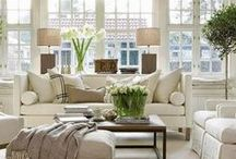 NEUTRAL INTERIOR IDEAS / A collection of our favorite neutral interior ideas! Grab tips and tricks to create your dream neutral interior! Curated by Rebekah Dempsey of A Blissful Nest. https://ablissfulnest.com
