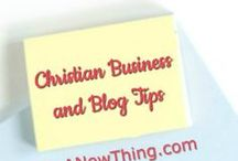 Christian Business and Blog Tips / This board is for tips, helpful information and motivation to grow your Christian business, blog or ministry.  All pins must be family friendly.  Articles with foul language will be removed. Email christa (at) doanewthing (dot) com to join this board!
