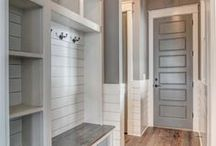 MUDROOM IDEAS / A collection of our favorite mudroom ideas! Grab tips and tricks to create your dream mudroom! Curated by Rebekah Dempsey of A Blissful Nest. https://ablissfulnest.com #mudroom #mudroomideas