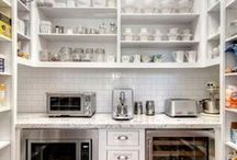 PANTRY IDEAS / A collection of our favorite pantry ideas! Grab tips and tricks to create your dream pantry and get organized! Curated by Rebekah Dempsey of A Blissful Nest. https://ablissfulnest.com #pantry #pantryorganization
