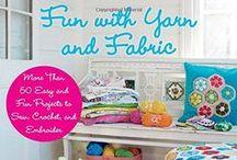 Fiber and Fabric / knitting, felting, sewing / by Dawn Grobe