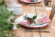 Rustic Holiday | Christmas Ideas / Holiday ideas with rustic textures and outdoor elements.