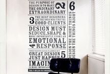 Wall Stickers / by Javier Cancino