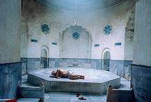 "Punaportti kh Turkis spa / Designing a three room + kitchen + sauna: Bathroom + sauna with theme ""Turkish spa"""