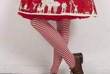 Palava's Stripy Tights, Bows and Petticoats / Add a touch of Palava fun to your outfit, with our delightful range of accessories. Available in sizes for women and children.