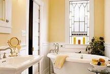 :bathroom / Ideas for both the upstairs and downstairs bathrooms.  / by Dawn Grobe