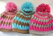 Crocheted Hats / by Jennifer