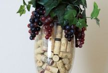 Wine  bottles & cork decoration / Crafts and decor  / by Marilyn Lynch