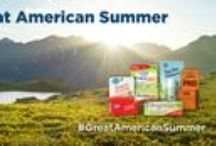 Great American Summer / Congratulations, you've made it to summer! School is out and June is Great Outdoors Month.  / by Hyland's, Inc.