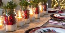 Festive Tablescapes / Wonderful and inspiring tablescapes and table designs for all occasions.