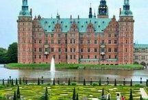 Travel | Castles And Estates / Castles and large estates that I'd love to visit