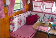 My retro caravan kitchen diner!