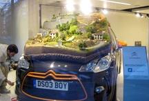 1:43 scale rally diorama / model - Citroen DS3R