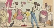 Regency Fun and Bawdy Prints / Regency caricaturists loved poking fun. I love seeing them do it.