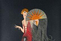 Art Deco, Arts and Crafts, Moderne
