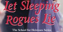 "Let Sleeping Rogues Lie / When Madeline Prescott took a teaching position at Mrs. Harris's School for Young Ladies, it was to help restore her father's reputation. Instead, she's in danger of ruining her own with the devilishly handsome Anthony Dalton, Viscount Norcourt, who has agreed to provide ""rake lessons"" to Mrs. Harris's pupils so they can learn how to avoid unscrupulous gentlemen!"