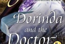 "Dorinda and the Doctor / Available for the first time digitally, this short story features the dashing Dr. Worth, who appeared in What the Duke Desires from ""The Duke's Men"" series, and the widowed cousin of the Duke of Lyons, Dorinda Nunley."