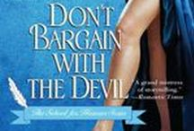 Don't Bargain with the Devil / 5th novel (and 7th title) in School for Heiresses series
