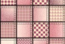 Backgrounds ~ Quilts / Sfondi Trapunte