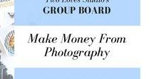 MAKE MONEY from Photography / Regardless if you are a food photographer, wedding photographer, or a portrait photographer, there are many ways to make money in this industry.  This board will explore these opportunities.  Usual rules - 5 pins/day, pls don't repeat frequently.  Here is my Google Doc for an invite http://twolovesstudio.com/pinterest-group-boards/