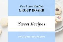 SWEET RECIPES Group Board / Especially for food bloggers, great photography is incredibly important to your success.  Share your pins of all types of desserts and sweet recipes. Usual rules - 5 pins/day, pls don't repeat frequently. Here is my Google Doc for an invite http://twolovesstudio.com/pinterest-group-boards/