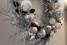 Wreaths - not just for Christmas / There's an awful lot you can do with a wreath... and they look so fabulous on display