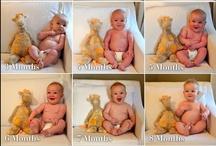 Gender Neutral Babieee Stuff / by Kellie St Bernard