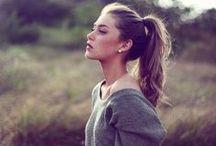 Hair, makeup, nails / by Hannah Harp