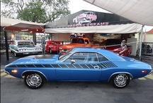 Show us Your Muscle / muscle car noun \-ˌkär\ : any of a group of American-made 2-door sports coupes with powerful engines designed for high-performance driving