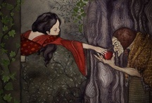 Fairy Tale Faction / This is a place to post art inspired by fairy tales, both well known and obscure. This is a baby board so please nurture it, add more pinners and stay on topic.  If you'd like to be added comment on one of my pins. http://pinterest.com/erinispinning/ / by Erin's Fascinations