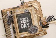 File Folder albums, Paper Bag  Albums, Journals, & Tags / by Debra Prince