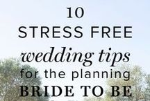 Useful Planning Tips for Brides / Be prepared to take on any obstacles while planning a wedding!