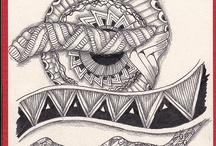 Zentagles & doodles / Doodles, zentangles - all fascinating...