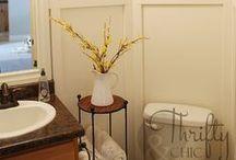Bathroom Beauties  |  Splendides salles de bain / Beautiful spaces to which you can escape, relaxing and rejuvenating in sweet serenity. | Des espaces magnifiques où s'évader, relaxer et se ressourcer dans une atmosphère de douce sérénité. / by CIL Paints