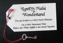 Inspiració festa Alice in Wonderland /