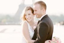 Chic Parisian Elopement Shoot