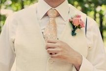 Fashion for the Groom / Have the groom looking dapper as ever on his big day!