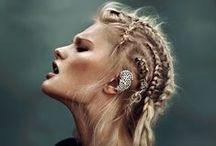 Viking, Celt, Medieval, Tribal makeup / Makeup ideas