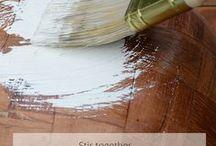 ART recipes / DIY recipes for paint etc