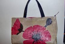 Upcycled Plastic Bags / Unique upcycled projects and crafts made from post consumer plastic bags.
