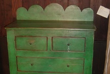 Painted Vintage furniture / by Ginger Boucher-Marshall