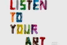 inspiring art / So many creative and insipirational artists...