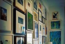 wall displays and arrangements