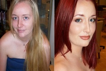 Before and Afters / Here are some amazing before and after photos by Sir Daniel and David Frohmberg at Salon Tease!