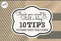 Blogging Tips / by Mallery Schuplin