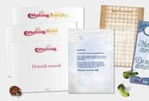 Huisstijlhandboeken | Housestyle manuals / by Ank | 2d studio in vorm
