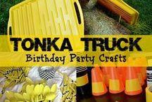 Tonka Truck Birthday Party / by Mallery Schuplin