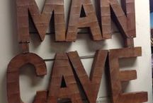 Man Cave // College Hill / Every man needs one!
