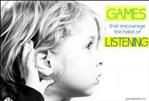 Kids listening, learning direction