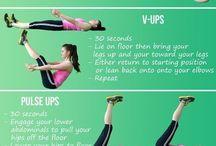 I workout! (Sometimes)  / by Ashley Nguyen